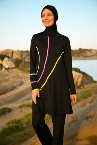 M-941 Hasema Burkini Swimwear Hijab,Badeanzug Bademode Tesettür Mayo