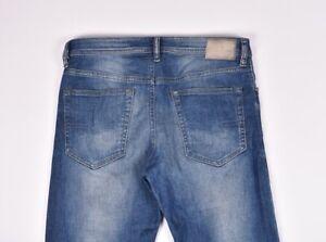 DIESEL-BUSTER-831D-Stretch-Regular-Slim-Tapered-Uomo-Jeans-Taglia-32-34