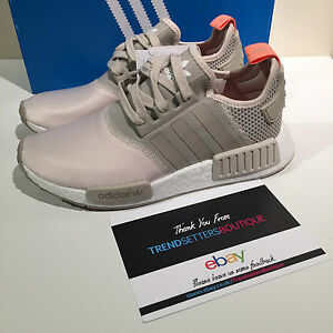 Details about ADIDAS NMD US UK 4 5 5.5 6 7 7.5 8 9 9.5 10 BEIGE SUN GLOW BROWN S75233 WOMENS