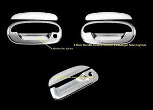 FOR FORD F-150 97-03 CHROME COVERS 2 DOORS HANDLES PSGR KH+TAILGATE