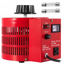 Tdgc 1km Variac Transformer Variable Ac Voltage Regulator Metered 1000va 0 130v