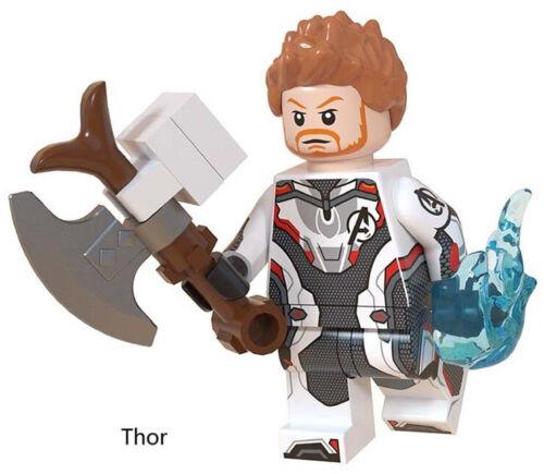 Avengers Endgame 2019 Marvel Thor Infinity War Superheroes Building Blocks Toys