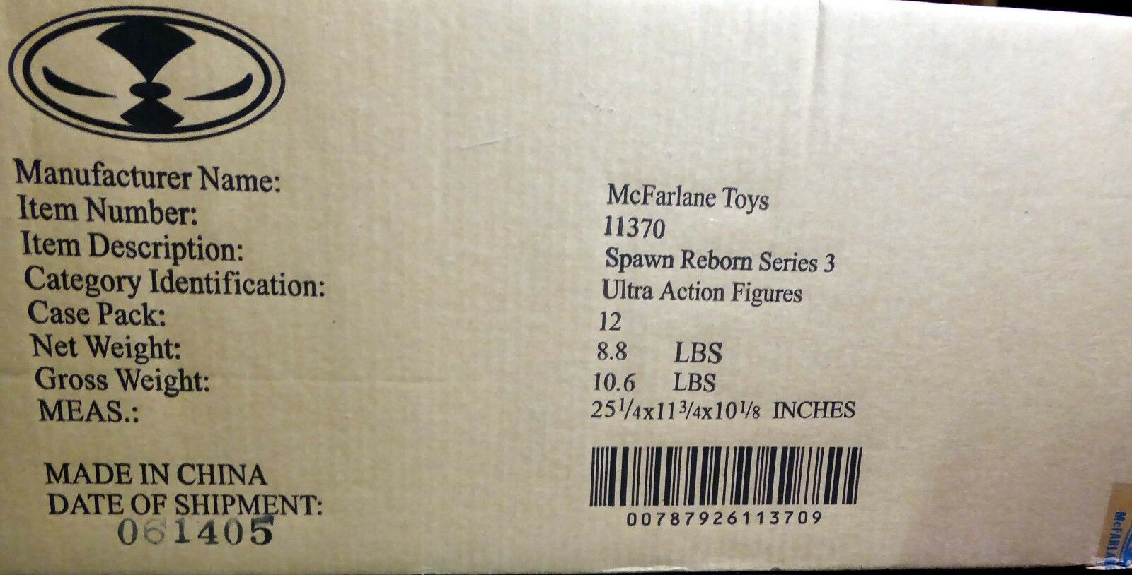 McFarlane Toys Spawn Reborn Series Series Series 3 Act Fig Set of 4 New 2005 ROTeemer Bloodaxe cdbbdf