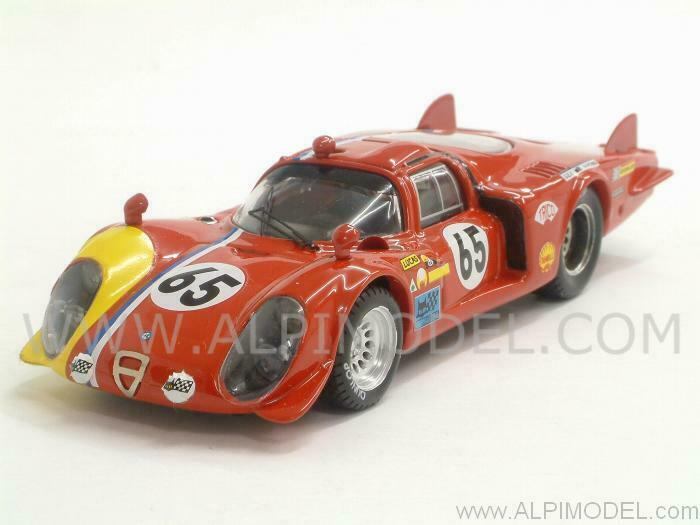 mejor servicio Alfa Romeo Romeo Romeo 33.2 Coda Lunga Le Mans 1968 Troesch - Wendt 1 43 BEST 9293  tomamos a los clientes como nuestro dios