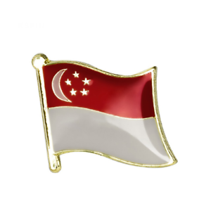 SINGAPORE-FLAG-Enamel-Pin-Badge-Lapel-Brooch-Fashion-Gift-Singaporean-PN48