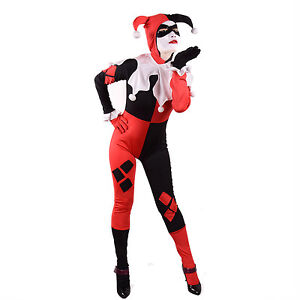 Harley-Quinn-Costume-Women-Sexy-Harlequin-Clown-Jester-Halloween-Outfit-Bodysuit