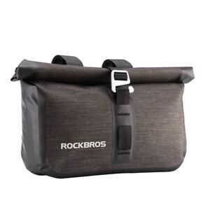 RockBros Bicycle Handlebar Bag Front Bag Waterproof Cycling Capacity 4-5L Bag