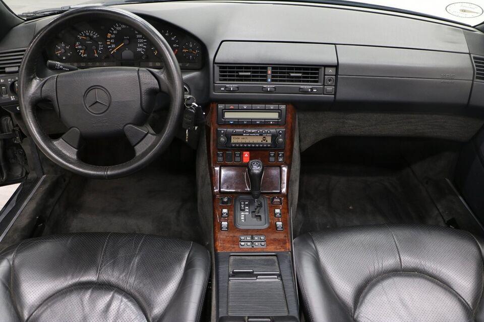 Mercedes SL320 3,2 Cabriolet aut. Benzin aut. modelår 1997