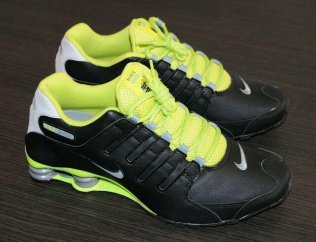 Nike Shox NZ EU 501524 031 schwarz grün Black Green Lime