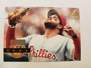1994 Pinnacle Artist Proof John Kruk Philadelphia Phillies    #63   C242