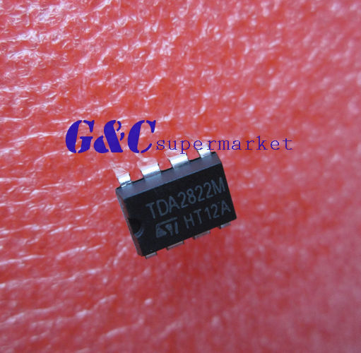 5PC TDA2822M 12V DIP-8 Audio Power Amplifier