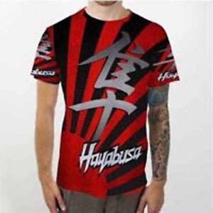 3xl camiseta a hombre Fullprint Hayabusa de camiseta Camiseta Tamaño Suzuki Nueva S personalizada TBngg4