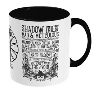 World of Warcraft RPG inspired SHADOW PRIEST Mug Gamer Gift WoW Classic