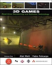 3D Games: Real-Time Rendering and Software Technology, Volume 1 (With-ExLibrary