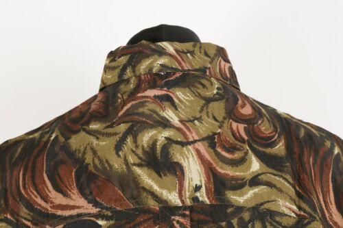 Brand New 100/% Silk Hawaiian ShirtGraphic Patterned Aloha Deadstock Vintage