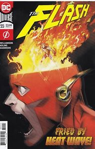FLASH (2016) #55 - Cover A - DC Universe Rebirth - New Bagged 761941341842