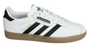 premium selection d6055 c58f2 Image is loading Adidas-Originals-Gazelle-Super-Mens-Trainers-Lace-Up-
