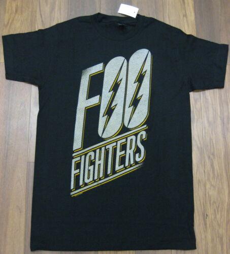 Foo Fighters Ring Spun Stretch Cotton T Shirt Black Grunge Rock N Roll Men S M