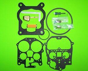 Rochester-Quadrajet-Carburetor-Rebuild-Kit-w-Brass-Float-amp-Filter-79-85-Chevy