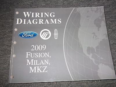 2009 Ford Fusion Mercury Milan Lincoln MKZ Electrical Wiring Diagram Manual  EWD | eBayeBay