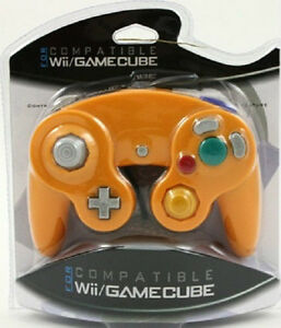 Orange-Spice-Controller-for-Nintendo-Gamecube-Wii