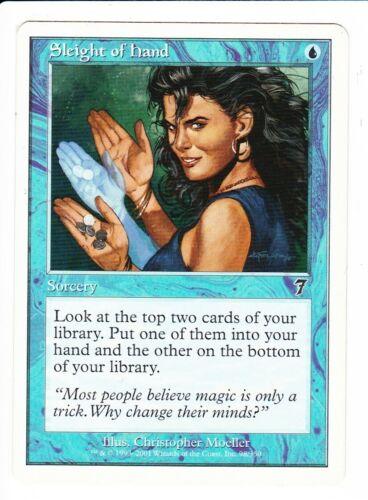 MTG  7TH Edition  SLEIGHT OF HAND