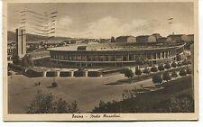 1924 Torino Stadio Mussolini Guller destinazione Apuania Massa FP B/N VG ANIM