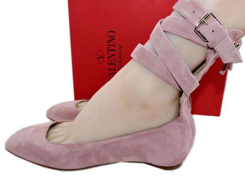 38 Mauve Suede Tango Enkelbandje 5 Ballerina Pump 7 Valentino Pink Shoe Ballets eYHDIWE29