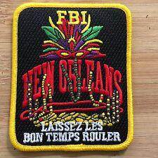 FBI - NOLA - SeconGEN MARDI GRAS - Full Color - Genuine *Kokopelli Patch*