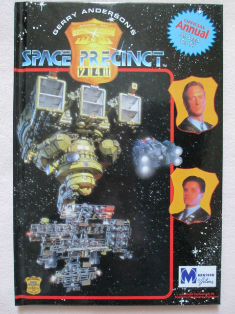 GERRY ANDERSON'S  SPACE PRECINCT ANNUAL 1996 - MINT CONDITION - RARE COLLECTABLE
