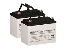 Pack of 2 - 12V 35AH U1 Wheelchair Scooter Medical Battery
