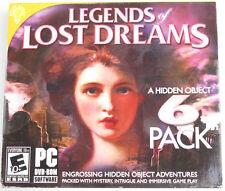Brain Games Legends of Lost Dreams Engrossing Hidden Object Adventures 6 Pack