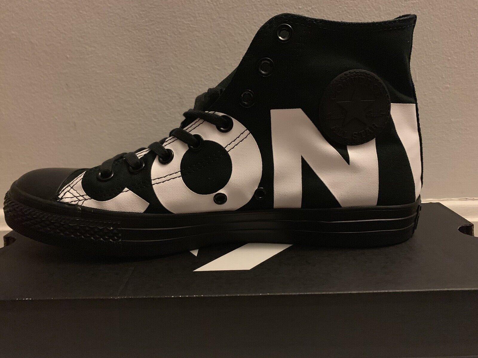 Converse Chuck Taylor Star Hi Zapatillas Negro All 160887F blancoo Talla 10 para hombre