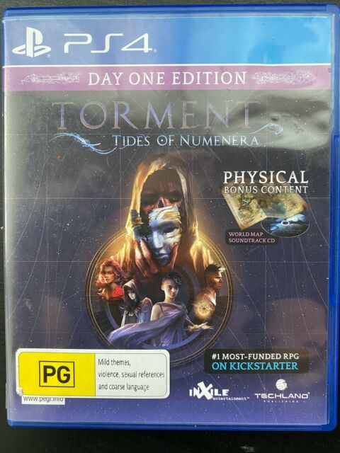 Torment: Tides of Numenera - PS4 - Playstation 4- Action RPG- Free Postage- Used