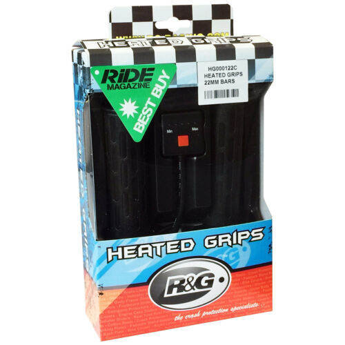 GSX-R 750 L SACS Slingshot GR7AA 1990 R/&G Heated Grips for 7//8 Bars