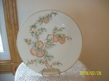 """Oxford Bone China Vintage """"L Special"""" Peach Blossom China Serving Plate"""