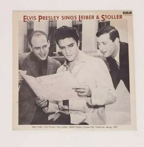 Elvis-Presley-Sings-Leiber-and-Stoller-Vinyl-LP-Record-Free-Postage