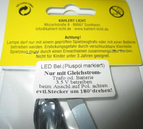 nuevo//en el embalaje original * luz para casa de muñecas o guarderías Kahlert-iluminación LED 3,5 voltios