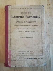 Cours-de-langue-Francaise-cours-moyens-et-superieur-1932-Maquet-Flot-Roy