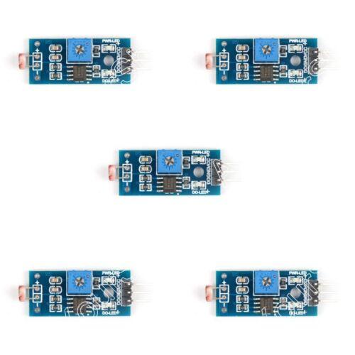 Photoresistor Resistance Licht Detects Sensor Modul Für Arduino Kit 3//4 Draht B7