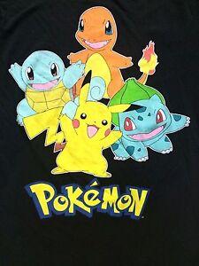 ed108983 Welovefine Size S Pokemon Starters T Shirt Pikachu Charizard small ...