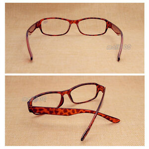 c2893cd72785 Image is loading Red-Square-Full-Frame-Plastic-Reading-Glasses-Eyeglasses-