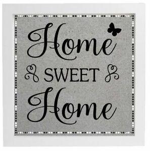 Vinyl Sticker For Diy Box Frame Home Sweet Home New Home Gift