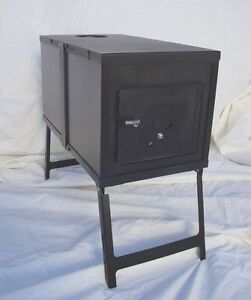 Image is loading NEW-Collapsible-Wood-Stove-for-Outfitter-Canvas-Wall- & NEW! Collapsible Wood Stove for Outfitter Canvas Wall Tent Camping ...
