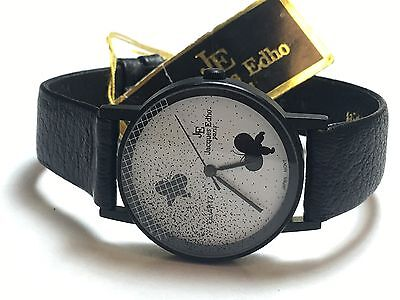Ideal Gift For All Occasions ml0811 Humor Vintage Jacques Edho Paris Quartz Watch New Old Stock Very Elegant
