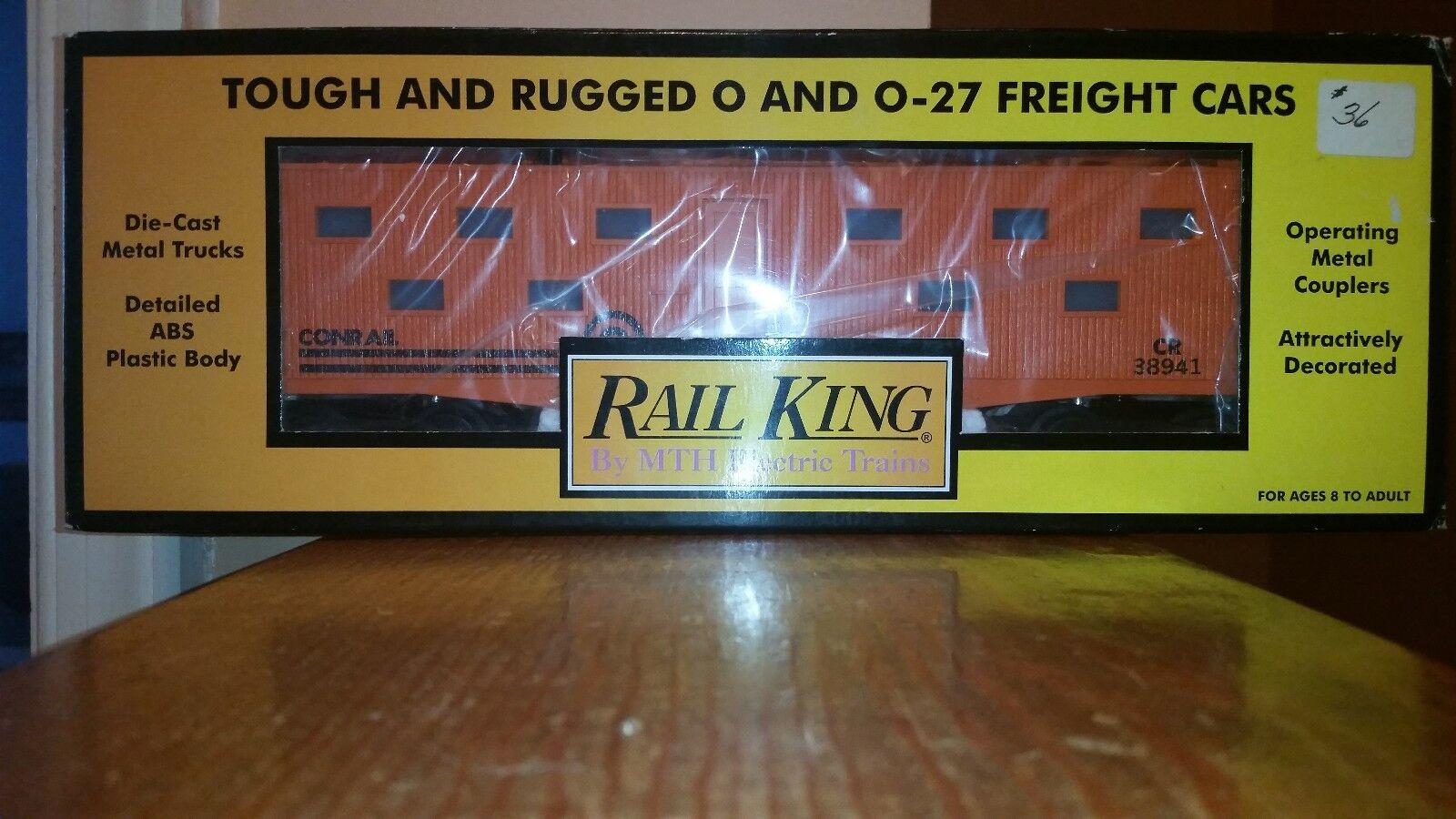 1999 MTH Rail King, Amtrak Illuminated Bunk Car,  027, NIB