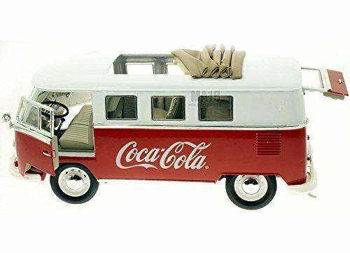 selección larga Norev - Modelo a Escala VOLKSWAGEN Combi vidrio vidrio vidrio Coca Cola 1962 (397471) 12x30x12  tienda