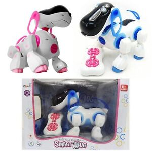 Remote-Control-I-ROBOT-DOG-CAT-Walking-Nodding-Toy-Pet-Puppy-Electronic-Light