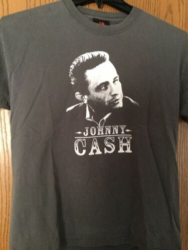 Johnny Cash.  Gray Shirt.  M.