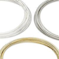 50 Loops Of 0.65mm - 0.75mm Stainless Surgical Steel Memory Wire For Jewelry
